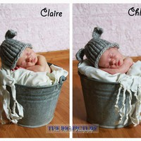 Twin Hat Set, Mary&#x27;s Other Little Lamb Hats, Newborn Hat, Photo Prop | Luulla