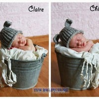 Twin Hat Set, Mary's Other Little Lamb Hats, Newborn Hat, Photo Prop | Luulla