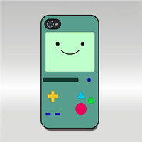 Iphone 4 case--Adventure time Beemo,BMO,iphone 4S case,in plastic or silicone case