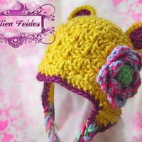 Goldilocks Multi-colored Whimsical Hat for Girls