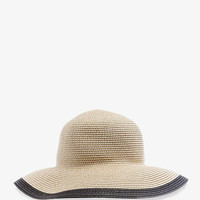 Colorblocked Straw Sun Hat | FOREVER 21 - 2035257686