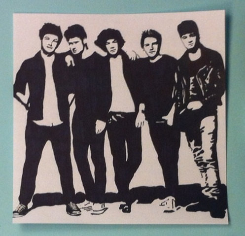 One Direction Pop Art from samonstage on Etsy