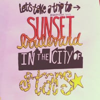 Emblem3- Sunset Blvd Lyric Art