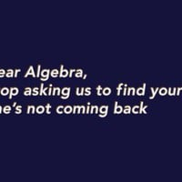 Dear Algebra, Stop Asking Us To Find Your X T-shirt By Snorg Tees - Funny, vintage, custom, cool, women's, men's and kids tees