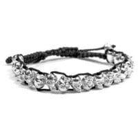 GYPSY WARRIOR - Silver Mini Skull Bracelet