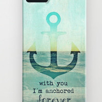 SAVE YOUR MONEY  with Free Shipping on *** ANCHOR ***  by M✿nika  Strigel	 | Society6 for iphone5 + 4S +4 + 3GS + 3G + ipod_touch skin mini