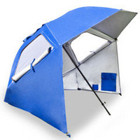 The Instant 8&#x27; Diameter Shelter - Hammacher Schlemmer