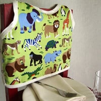 Animal Print Bib by maddywear