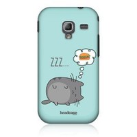 Amazon.com: Head Case Designs Dreaming Cat Snap-on Back Case For Samsung Galaxy Ace 2 I8160: Cell Phones & Accessories