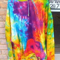 SALE 5XL Tie Dye Pullover Hoodie  Plus Size NEW shipping included