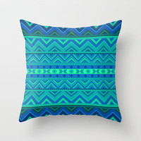 Mix #242 Underwater Throw Pillow by Ornaart | Society6
