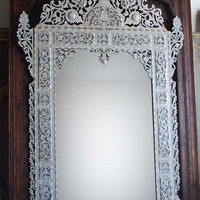 Inlay Mother of pearl mirror