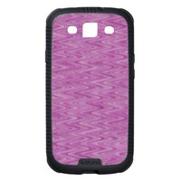Pink Raspberry Zigzag Samsung Galaxy S3 Cases from Zazzle.com