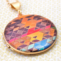 The Color Study Locket I - Vintage
