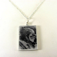 Martin Luther King Photo Necklace MLK Jr by PhotoPerfectJewelry