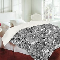 DENY Designs Home Accessories | Valentina Ramos Doodles Duvet Cover