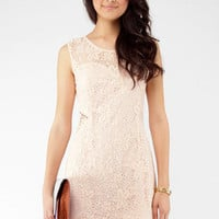 Standing Ovation Dress in Blush :: tobi