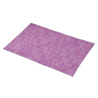 Pink Raspberry Zigzag Placemats from Zazzle.com