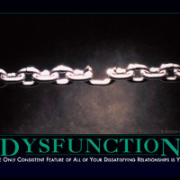 Dysfunction Demotivator - The Original Demotivational Posters