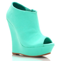 peep-toe-platform-wedges BLACK MELON MINT - GoJane.com