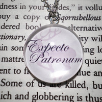 Expecto Patronum Necklace from Harry Potter by undonedesign
