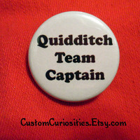 Quidditch Team Captain Flair 125in pinback by CustomCuriosities