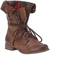 Steve Madden Combat Boot...