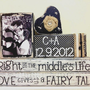 Personalized Wedding gift/Decoration Happily Ever After wedding, shower, anniversary, Christmas black and white wedding shabby chic sign