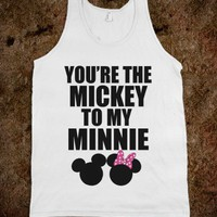 You&#x27;re The Mickey To My Minnie &lt;3 - Underline Designs
