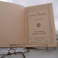 James M. Barrie The Little Minister Book, Scottish Historical Fiction