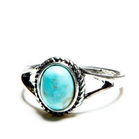 Turquoise Stone Vintage Ring