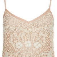 Heavy Embellished Cami Top