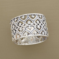 FILIGREE HEARTS BAND