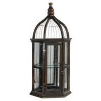 One Kings Lane - Evergreen - Mirrored Bird Cage II