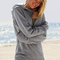 Classic Fleece Hooded Tunic - Victoria&#x27;s Secret