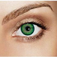 Amazon.com: iColor Complete Contact Lenses - Sea Green: Health &amp; Personal Care