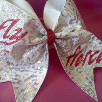Fly Fierce Cheer Bow 3 Cheer Bow by ShimmerCreationsBows on Etsy