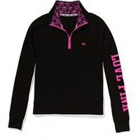 Yoga Half-Zip - PINK - Victoria&#x27;s Secret
