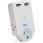 ThinkGeek :: FlipIt! Portable Power Strip