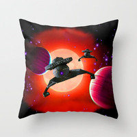 Klingon Battle Crusers Throw Pillow by JT Digital Art  | Society6