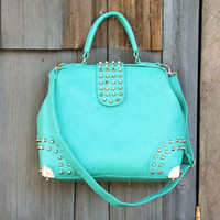 Studs & Mint Tote, Sweet Bohemian Totes & Bags