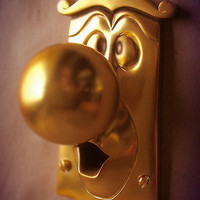 Alice and Wonderland Doorknob | Carddit