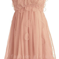 Peach Petal Frock prom dress from sweetheart dresses