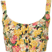 Petite Daffodil Bralet Top - Tops - Petite  - Apparel - Topshop USA