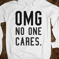 No One Cares. - S.J.Fashion