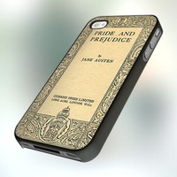 Pride and Prejudice Cover Book design for iPhone 4 or 4S Case / Cover