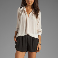 By Malene Birger Modern Elegance Top in Cream from REVOLVEclothing.com