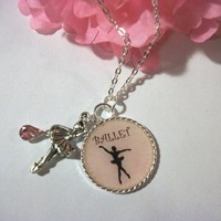 Beautiful Ballerina Necklace