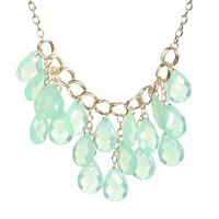Faceted Statement Necklace | Shop Jewelry at Wet Seal