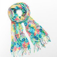 Lilly Pulitzer - Murfee Scarf - Resort White Spring Fling